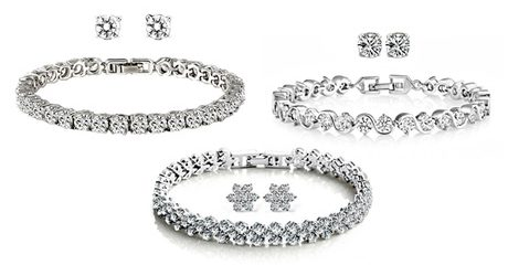 Set with Crystals from Swarovski®