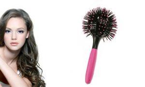 Spherical 3D Hairbrush