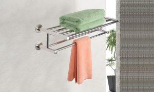 Wall-Mounted Towel Rack