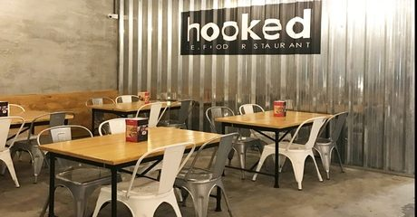 AED 200 Towards Hooked Seafood Restaurant