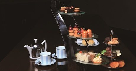 Afternoon Tea at Jumeirah Etihad Towers Lobby