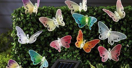 Butterfly Solar Garden Lights