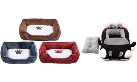 Corduroy Pet Bed
