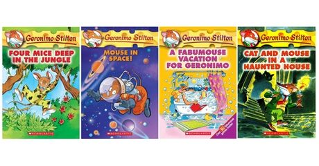 Geronimo Stilton Four-Book Pack