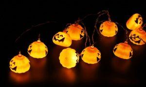 Halloween Solar Pumpkin Lights
