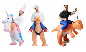 Inflatable Ride-On Adult Costumes