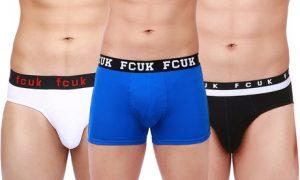 Men's FCUK Underwear Four-Pack