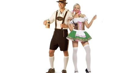 Oktoberfest-Themed Costume