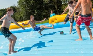 One-Hour Soapy Football