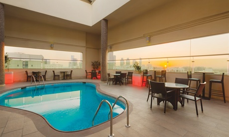 Pool and Spa Access and Buffet: Child (AED 35) or Adult (AED 79)