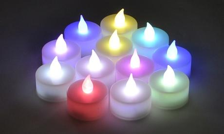 20 LED Tea Light Candles