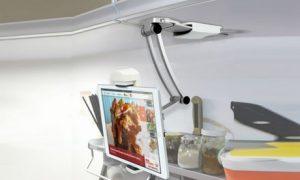 Adjustable Kitchen Tablet Mount