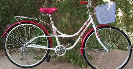 Adult's City Bike with Basket