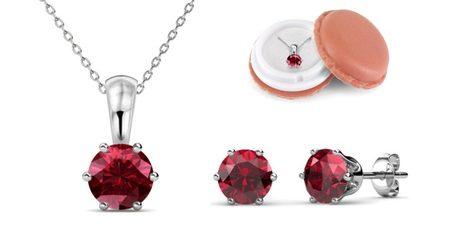 Birthstone Crystal Set