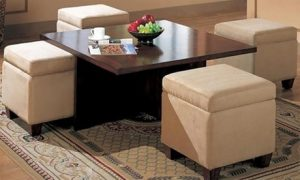 Centre Table with Stools