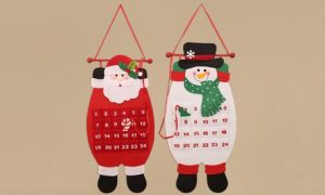 Cloth Christmas Advent Calendar