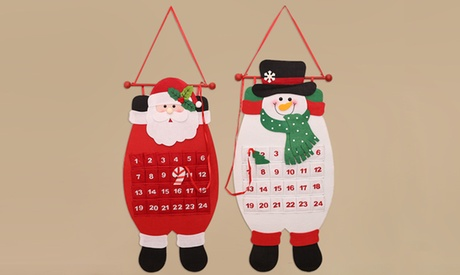 Cloth Christmas Advent Calendar