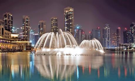 Dubai Fountain Boardwalk Tickets