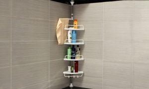 Four-Tier Corner Shelf