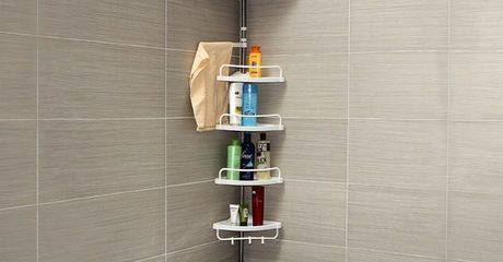 Four-Tier Corner Shelf