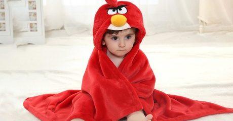 Hooded Fleece Baby Wrap