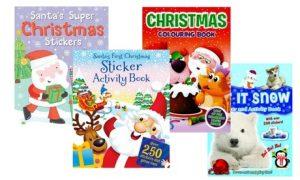 Kids' Christmas Activity Books
