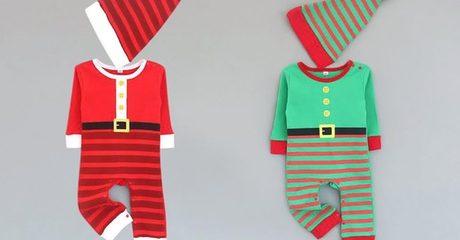 Kids' Elf Onesies