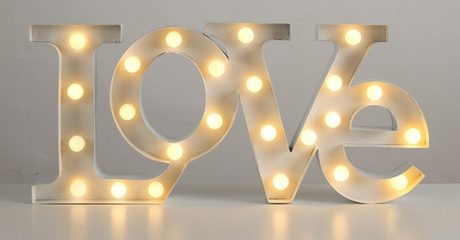 LED Marquee Love Signs
