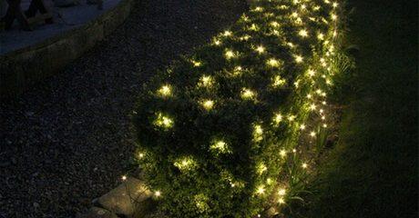 LED Solar Netting Light Set