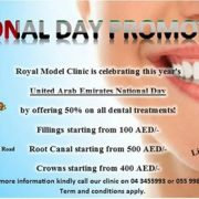 National Day Promotion at Royal Model Dental Clinic