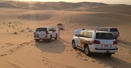 New Year's Desert Safari
