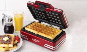 Nostalgia Belgian Waffle Maker