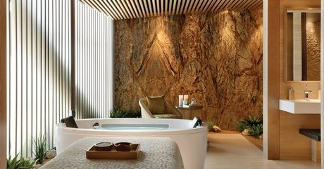 Indulge in a choice of pampering treatments including body scrub or wrap