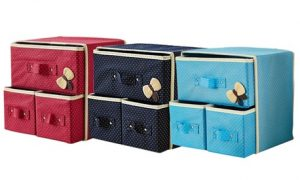Two-Layer Clothes Storage Boxes