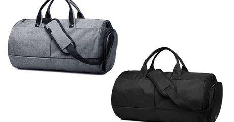 Water-Resistant Gym Bag