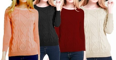Women's Knitted Jumper