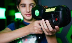 30-Minute Laser Tag Session