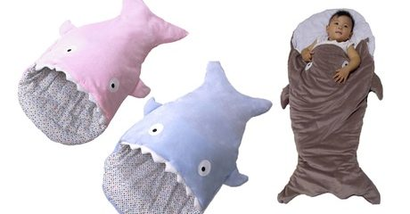 Babies' Shark Sleeping Bag