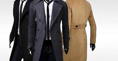 Men's Smart Overcoat