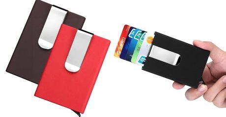 Pop-Up Aluminium Wallet