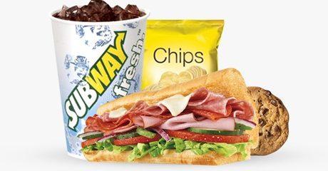 Subway Combo Meal