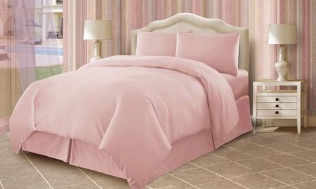 Three-Piece Cotton Bed Sheet Set