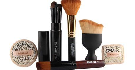 10-Piece Pro Make-Up Brush Kit