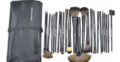 24-Piece Make-Up Brush Set