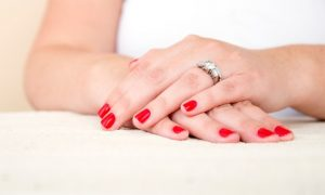 Customers can give their nails a makeover with a classic or Gelish mani-pedi