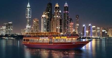 Dhow Cruise Dinner: Child (AED 129) or Adult (AED 149)