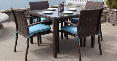 Four-Seater Outdoor Rattan Set