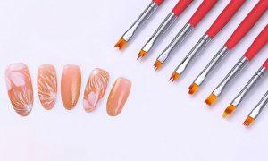 Gradient Design Nail Art Brush Set