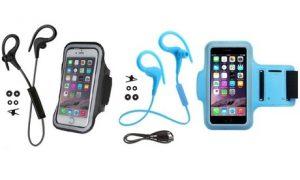Headphones and Armband Bundle