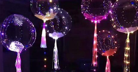 LED String Fairy Light Balloons